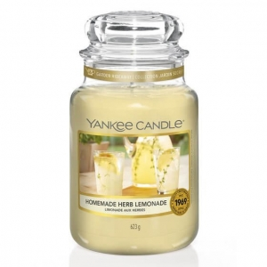 Yankee Candle słoik duży HOMEMADE HERB LEMONADE
